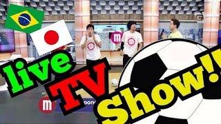【海外TV】 息ぴったり!? 日本人の衝撃サッカーパフォーマンス!! ALEG-Re on Mulheres TV GAZETA フリースタイルフットボール アレッグ