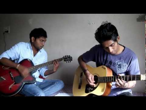Zara Zara Behekta hain( RHTDM).avi on guitar