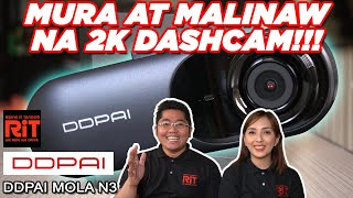 DDPAI Mola N3 Dashcam : Affordable at Malinaw na Dashcam 2K