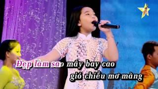 Karaoke Quê Hương Tôi - Bé Ngọc Ngân