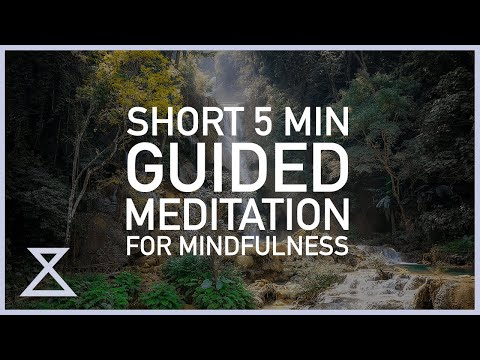 Short 5 Minute Guided Meditation for Mindfulness