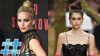 Kaia Gerber And Jennifer Lawrence Prove Messy Is TRENDY   Trending Topics
