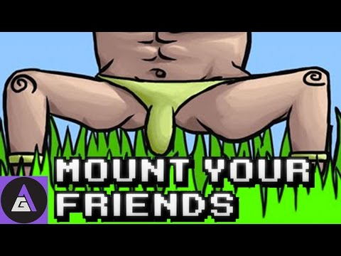 TOTAL MANLINESS | Mount Your Friends Gameplay