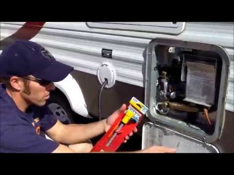How To Change Your Camper's Hot Water Heater Anode