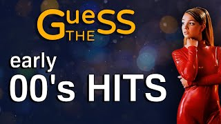 Guess the Song | 00's HITS (Early 2000's)