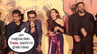 Ranveer Singh Saying Simbaa Movie HIT Dialogues In Marathi In Ajay Devgan'ss Singham Style