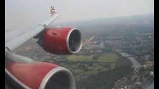 Airbus A340 600 Virgin Atlantic Airways (LHR)