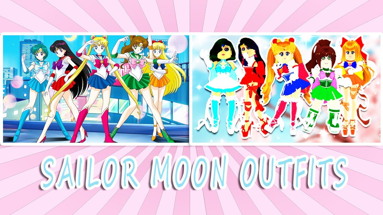 SAILOR MOON OUTFITS in Royale High | Roblox ANIME OUTFITS ...