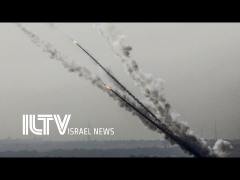 Israel under massive attack! Over 170 rockets fired from Gaz