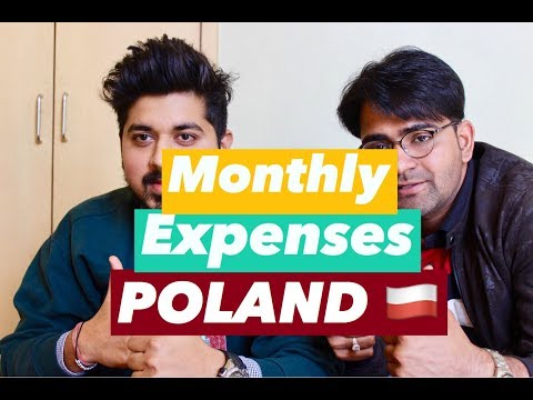 Monthly Expenses in POLAND | TRAVEL | LIVING | FOOD !