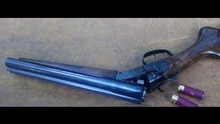 How NOT To Shoot a Sawed-off Shotgun