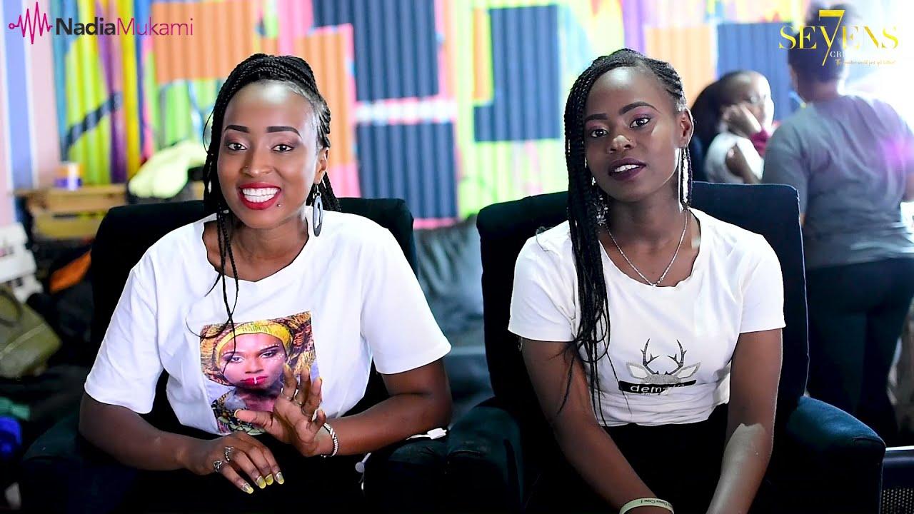 Behind The Scenes of Nipe Yote by Nadia Mukami - SMS 'SKIZA 5802450 TO 811'