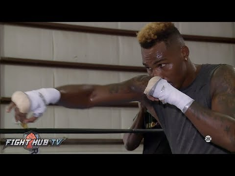 JERMELL CHARLO LOOKING SHARP & STRONG IN WORKOUT AHEAD OF ERICKSON LUBIN FIGHT