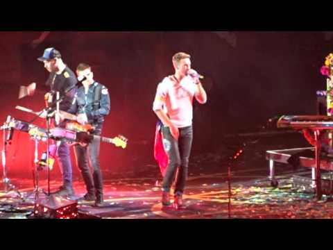 Coldplay ♫ Chile 03 04 2016 ♫   - Hymn For The Weekend   - Estadio Nacional