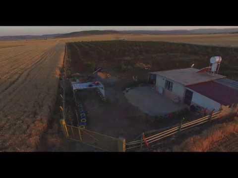 Kutluca (Fal)  Köyü havadan Dron Çekimi