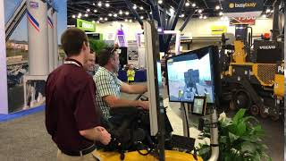 Video still for World of Asphalt 2018 Attendees at Volvo Booth