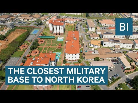 Life At Camp Humphreys— The Closest US Military Base To North Korea