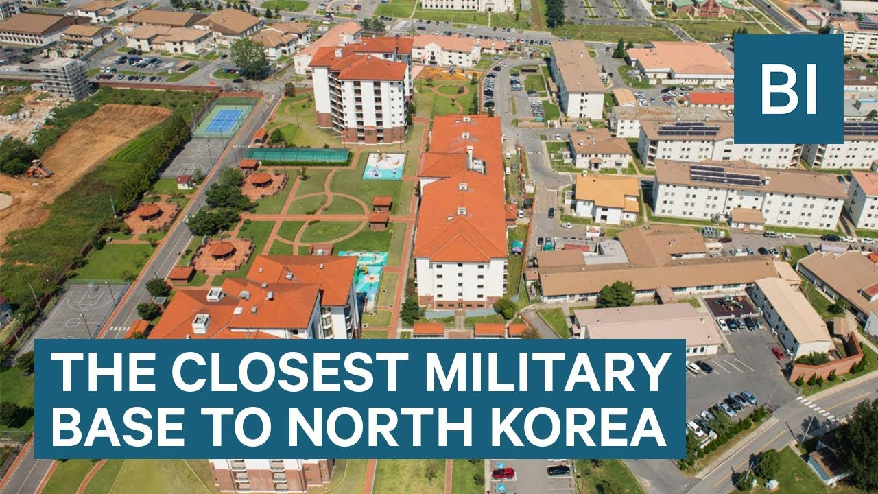 Life At Camp Humphreys— The Closest US Military Base To North Korea ...
