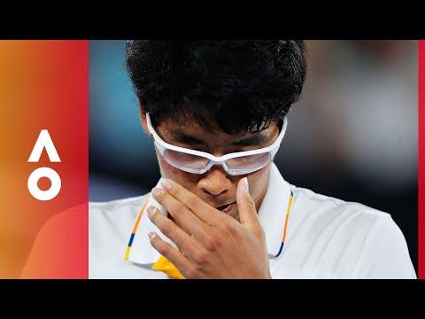 The end of Chung's dream run | Australian Open 2018