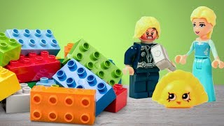 Playdoh Lego Bricks Surprise Toys | Fun Activities For Kids And Children By HooplaKidz How to