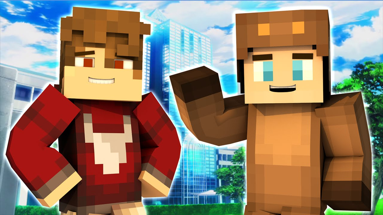 Minecraft PRISON - BACK TO HIGH SCHOOL! (Minecraft Roleplay) Day 1