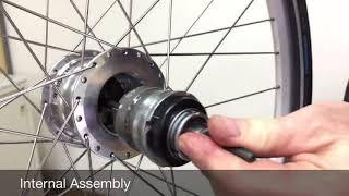 RX-RD3 D-1 Assemble Internal into Wheel