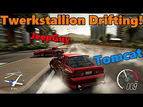 Forza Horizon 3 | Hoonigan  TWERKSTALLION RX7 Drifting, Tandems, Gameplay and More!! TC and JeepGuy