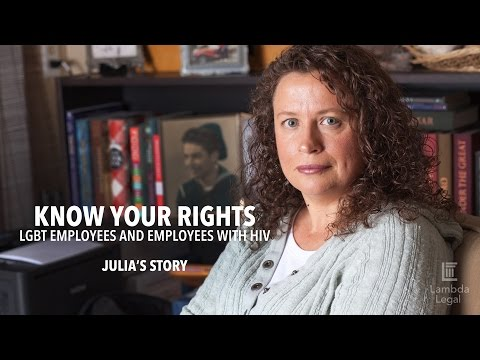 KNOW YOUR RIGHTS Employment: Julia's Story