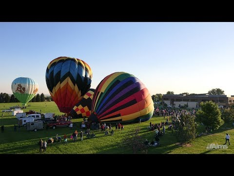 Hot Air Balloon Time-Lapse - Great Aardvark Embark 2018