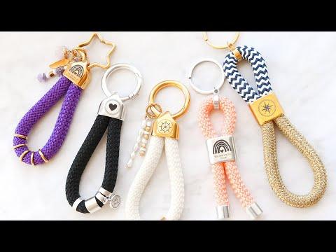 Nouveau dans la gamme ! Porte-clés DQ Mix & Match avec cordelette style marin