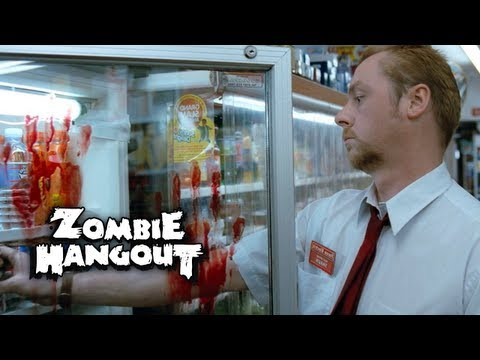 Shaun of the Dead - Zombie Clip 2/8 Oblivious to the Zombies (2004) Zombie Hangout