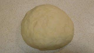 Как приготовить тесто для пиццы. Быстрый рецепт теста(В этом видео я покажу, как быстро и легко приготовить бездрожжевое тесто для пиццы. Готовое тесто получаетс..., 2016-02-02T22:33:38.000Z)