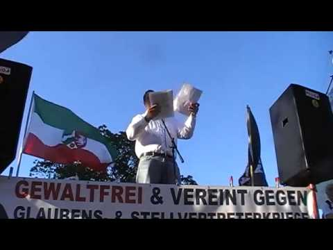 Viktor Seibel - Pegida NRW in Duisburg 06.07.2015