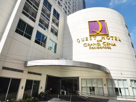 Room Tour at Quest Hotel, Cebu City, Philippines
