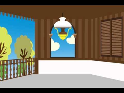 Looping Video Background Teras Rumah Betawi YouTube