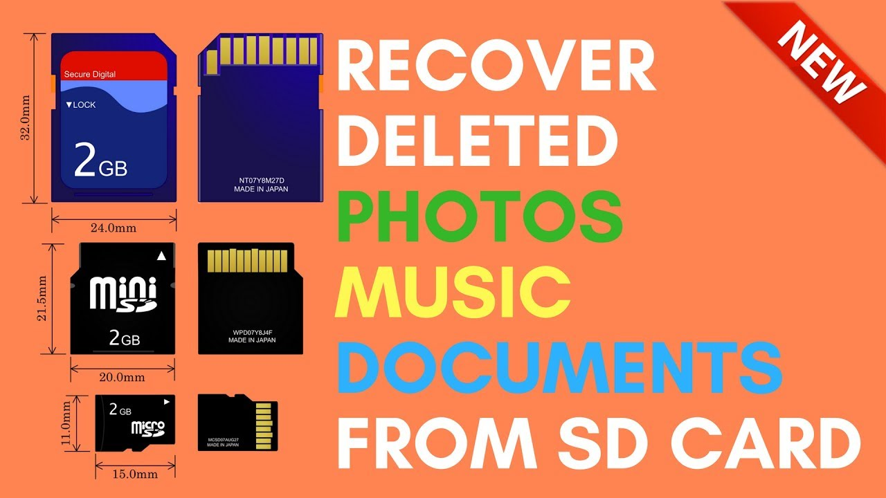 Sd recover card photos from deleted