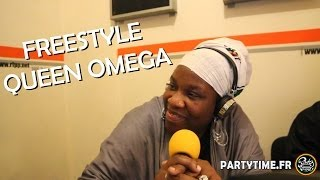 QUEEN OMEGA - Freestyle at Party Time Reggae Show - 20 AVRIL 2014