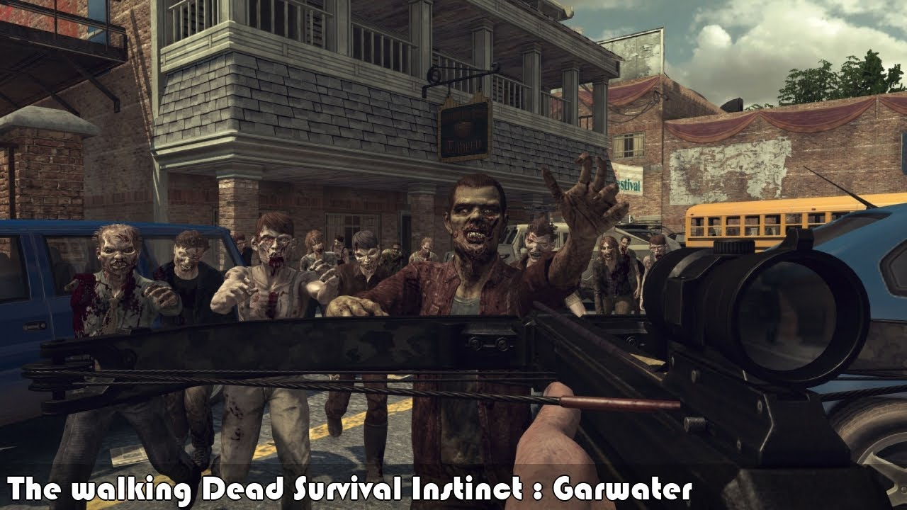The Walking Dead Survival Instinct PC Game Free Download
