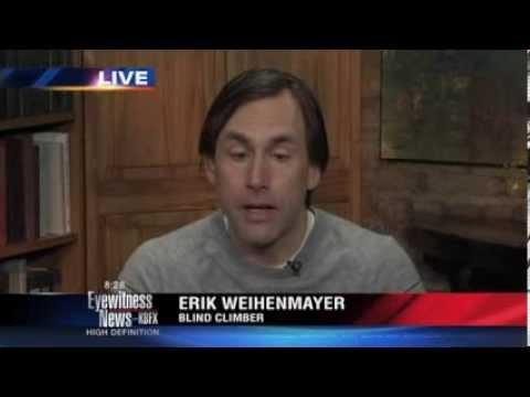 Erik Weihenmayer, blind man climbs Mount Everest
