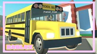 SON AUTOBUS SCOLAIRE EST PARTI! | Roblox High School Bus Driver Routine partie 2 (histoire de Roblox)
