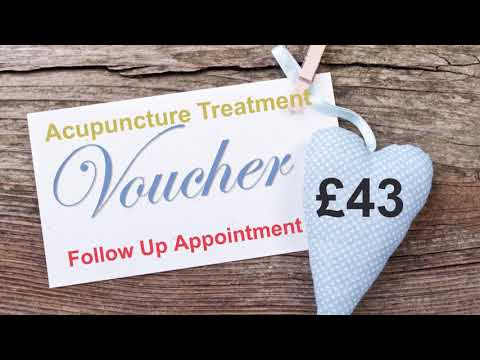 Weymouth Acupuncture & Chinese Herbal Medicine Clinic - Treatment Gift Voucher