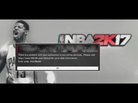 How to fix NBA 2k17 Error code 4b538e50 | Quick Fix For Xbox One | Still Looking for PS4 Solution