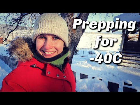 Preparing the Farm for -40C | Real Canadian Winter