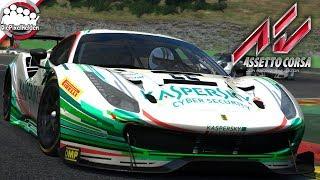 ASSETTO CORSA - Ferrari 488 GT3 @ Spa-Francorchamps - Let