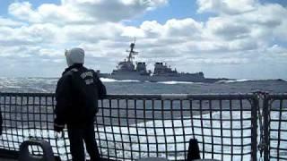 USS NITZE vs. USS MASON Race