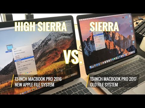 macOS High Sierra's Apple File System Is This Fast