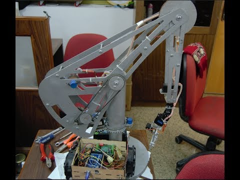 6 Degrees of freedom robotic arm. Performance edition