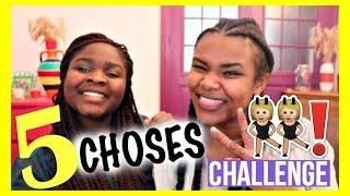5 CHOSES CHALLENGE w/JADE