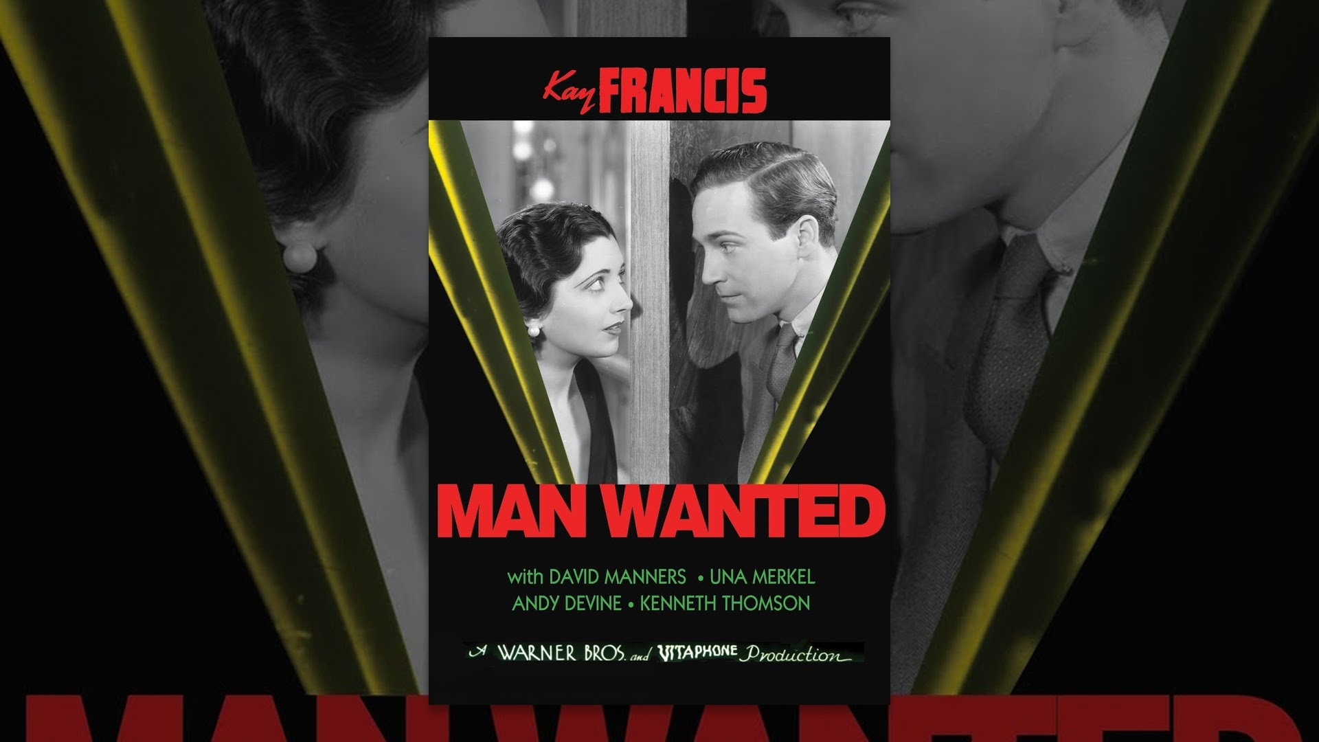 Man Wanted (1932)