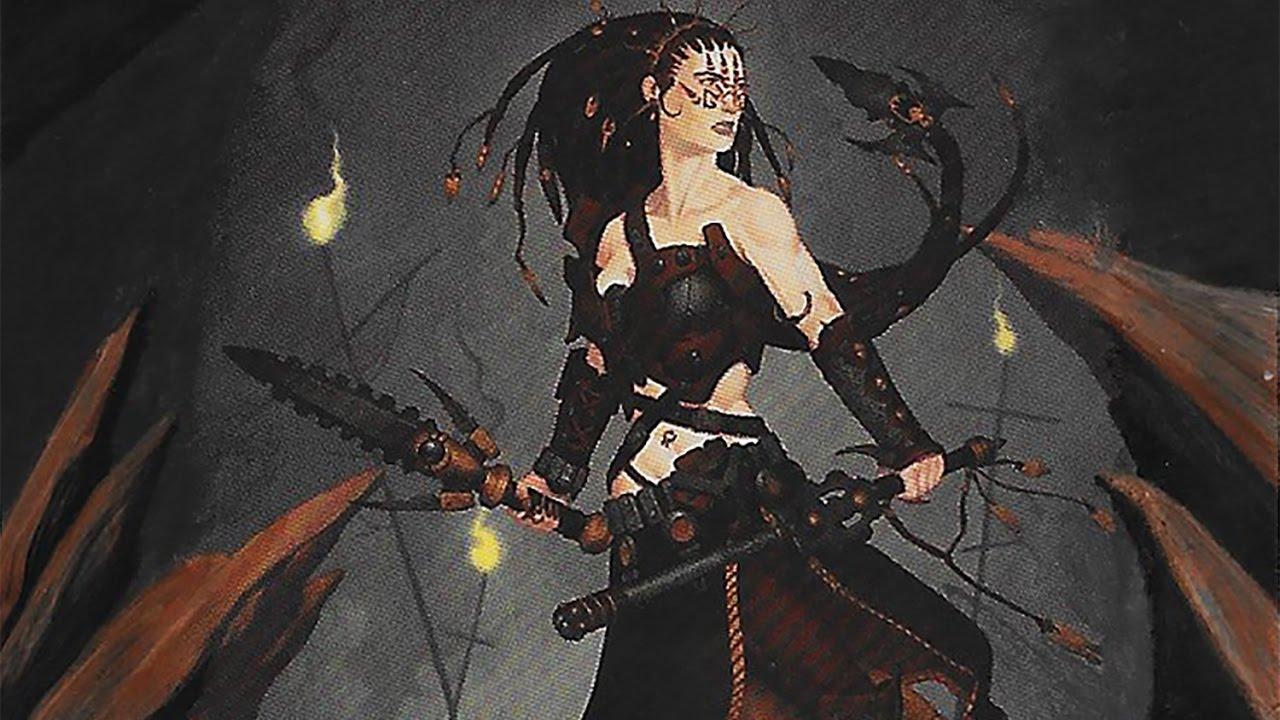 MTG Altered Art - Jeska Warrior Adept - YouTube